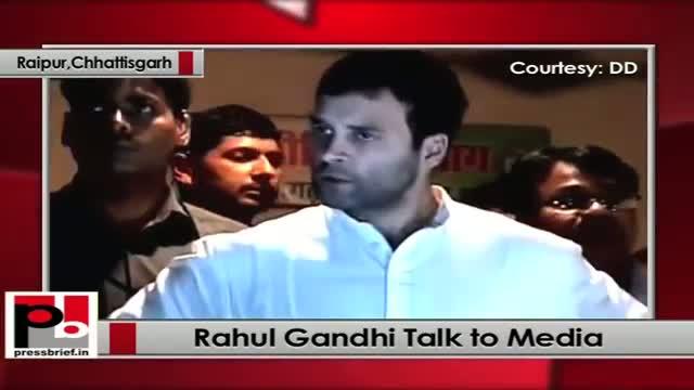 Chhattisgarh Naxal attack: Rahul Gandhi talks to Media