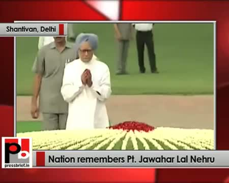 Nation remembers Pt. Jawahar Lal Nehru on his 49th death anniversary
