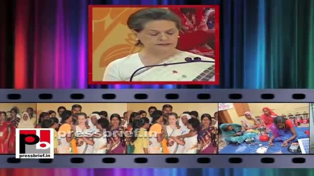 Sonia Gandhi speech at Aajeevika Diwas 2013 in New Delhi