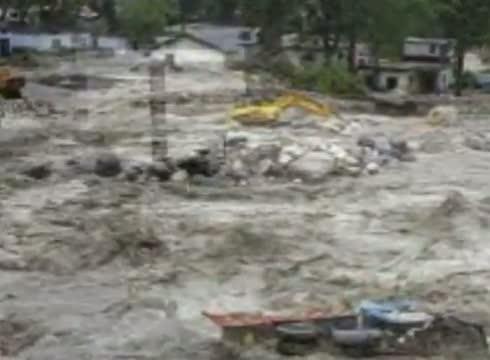 Uttarakhand Flood 2013 Heavy Rain in Uttarakhand