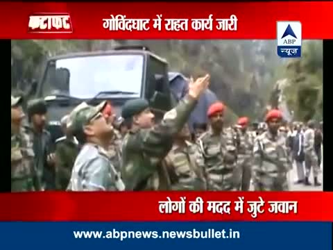 Central Command jawans rescue 7000 stranded people in Uttarakhand