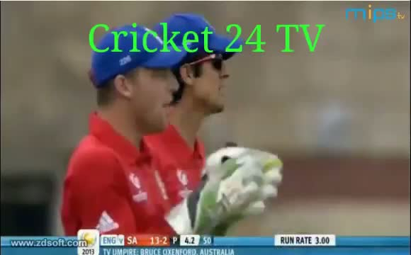 England v South Africa - Champions Trophy 2013 - 1st Semi-Final Highlights - 19-6-2013