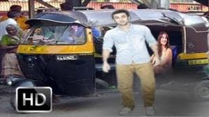 Ranbir Kapoor & Katrina Kaif Caught In AUTORICKSHAW