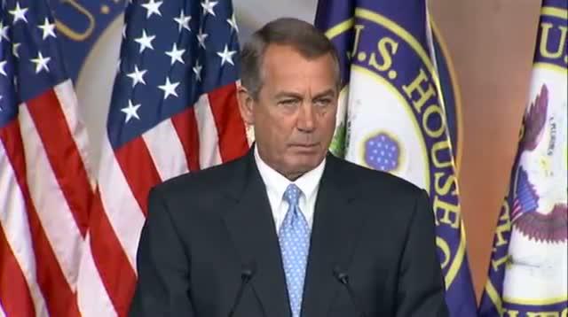 Boehner Warns on 'ramming Through' Immigration`