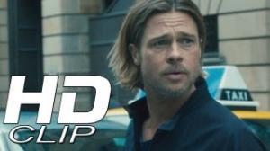 """World War Z """"Broken Mirror"""" Clip Official - Brad Pitt"""