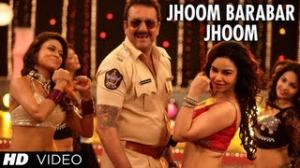 JHOOM BARABAR JHOOM - POLICEGIRI (VIDEO SONG) - SANJAY DUTT & PRACHI DESAI