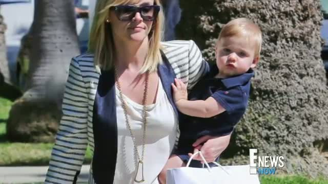 Reese Witherspoon Snapped With Adorable Son