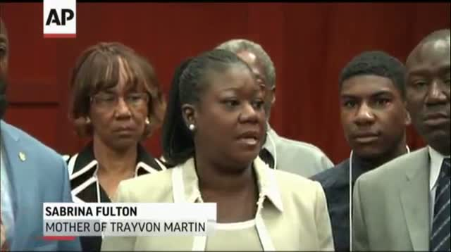 Martin Family: We Ask for Prayer and Justice