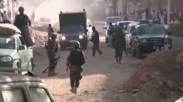 Explosions Near Afghanistan Palace