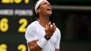 Rafael Nadal vs. Steve Darcis Wimbledon 2013 1st Round