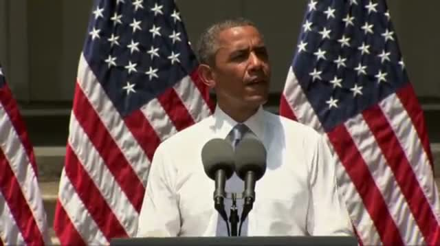 Obama Takes Aim at Changing Climate