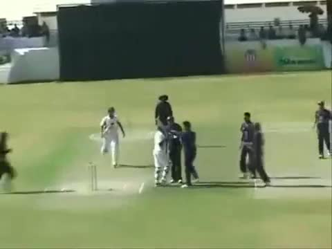 """Cricket Fight - """"Unbelievable Attack"""" Fight in a cricket match in India"""