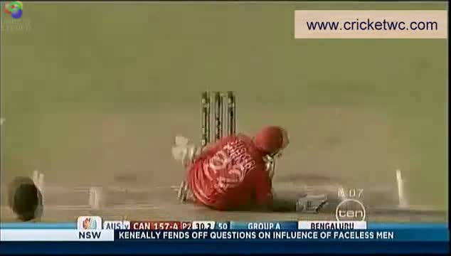 Ricky Ponting and Steve Smith  - WC 2011