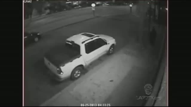 Surveillance of Suspect in LAPD Ambush