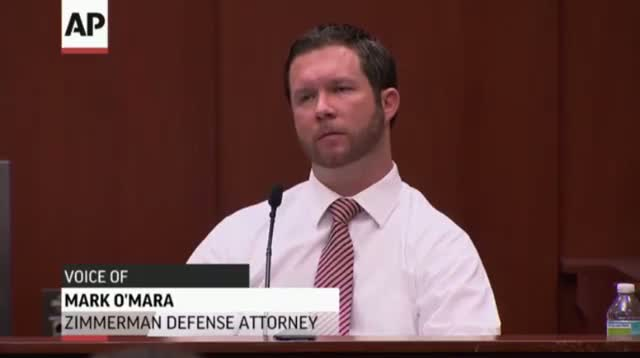 Testimony on Zimmerman Fight With Martin