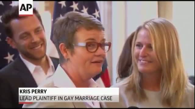 Plaintiffs in Gay Marriage Case Wed in Calif.