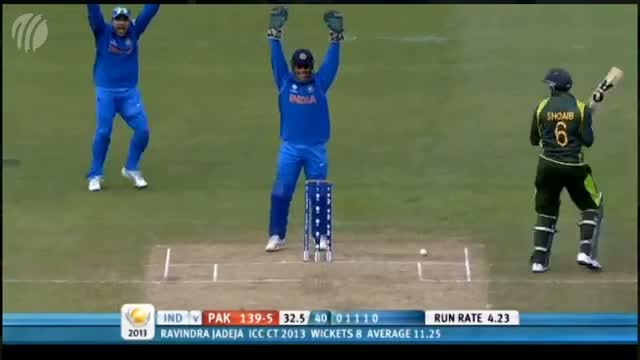 Golden Ball Ravindra Jadeja In ICC Champions Trophy 2013 - IND vs ENG Final Match HD Highlights