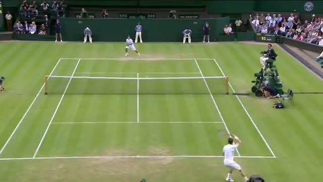 Andy Murray v Tommy Robredo - Wimbledon 2013 Day 5 Highlights