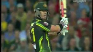 Most Amazing Cricket Shot Ever - David Warner's Switch Hit For 6!!!!!