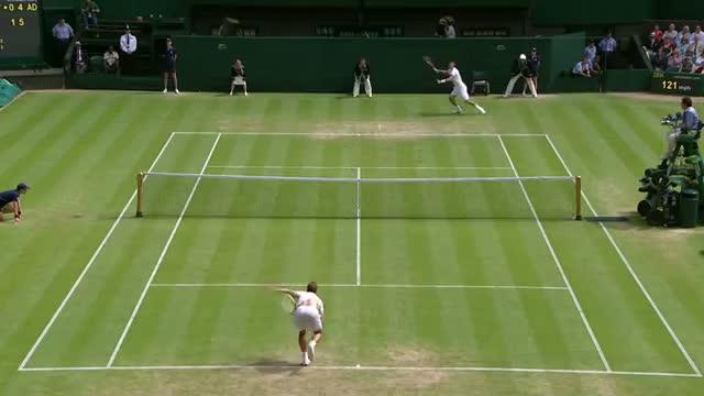Richard Gasquet v Bernard Tomic - Wimbledon 2013 Day 6 Highlights