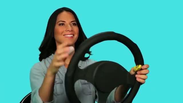 Olivia Munn: Don't Text and Drive - Funny PSA!
