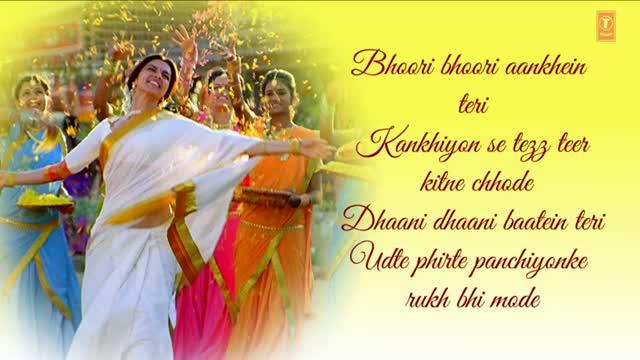 Titli Chennai Express Song With Lyrics - Shahrukh Khan & Deepika Padukone