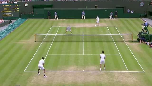 Bryan/Bryan v Bopanna/Roger-Vasselin - Wimbledon 2013 Day 10 Highlights