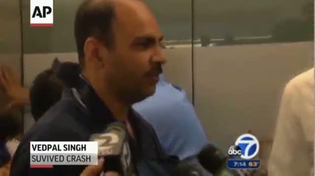 Crash Survivor: Everyone Was Screaming