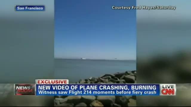 Plane Crash - Boeing 777 San Francisco - Asiana Flight 214 - 7/6/13 final seconds