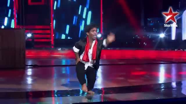 India's Dancing SuperStar - 7th July 2013 - Vikas' entertaining act - Ep 22