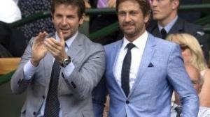 Gerard Butler Is Bradley Cooper's Third Wheel At Wimbledon