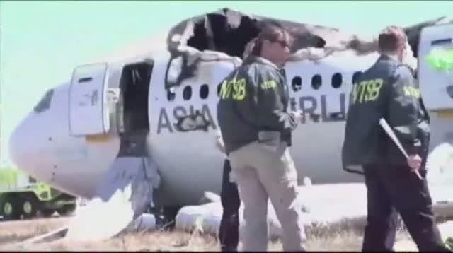 Crash Investigation Focuses on Landing Speed