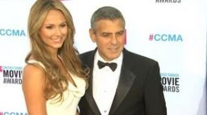 George Clooney and Stacy Keibler BREAK UP!