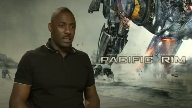 Pacific Rim: Idris Elba, Guillermo del Toro and cast create their own monster movies