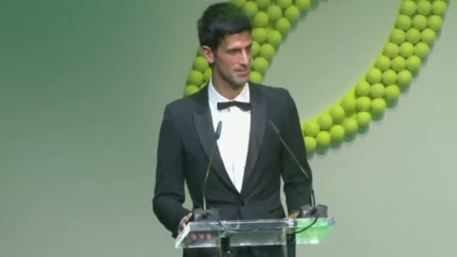 Novak Djokovic joined by Ronnie Wood and Naomi Campbell at charity auction