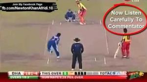 Shahid Afridi 200 and 250 Meter Sixes to Shakib al Hasan in BPL 2012