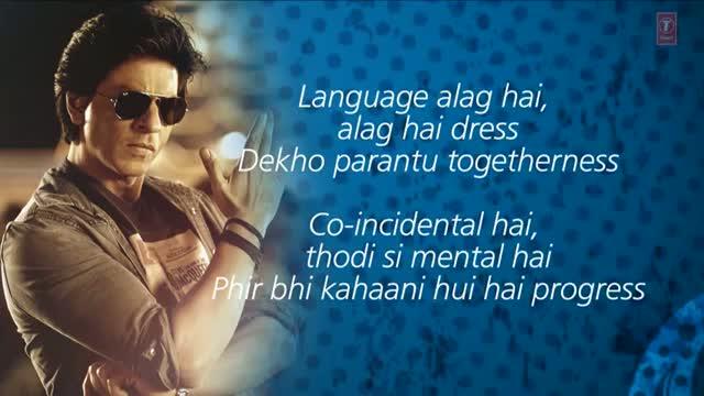 Chennai Express Title Song With Lyrics - Shahrukh Khan & Deepika Padukone