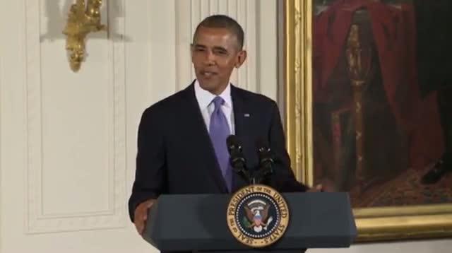 Obama Awards Art, Humanities Medals