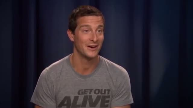 Folks Try to 'Get Out Alive With Bear Grylls'