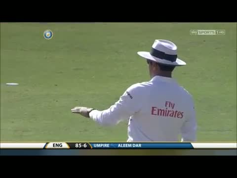 Worst umpiring of all time. India cheated by Aleem Dar!