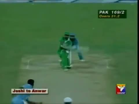 Saeed Anwar Played the memorable Innings of 194 vs India - 21st May 1997