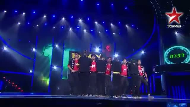 India's Dancing Superstar - 14th July 2013 - MJ5 and D Maniax's group act Performance - Ep 23