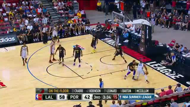 NBA: Los Angeles Lakers vs Portland Trailblazers Summer League Recap