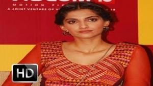Oops! Sonam Kapoor suffers A Wardrobe Malfunction