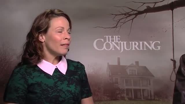Lili Taylor & Ron Livingston 'The Conjuring' Junket