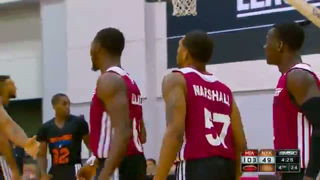 NBA: Anthony Marshall Throws It Down against the Knicks
