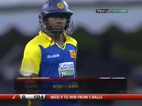 Jacob Oram takes a Hattrick and no one notices!! Sri Lanka v New Zealand 1st T20 at Colombo 2009