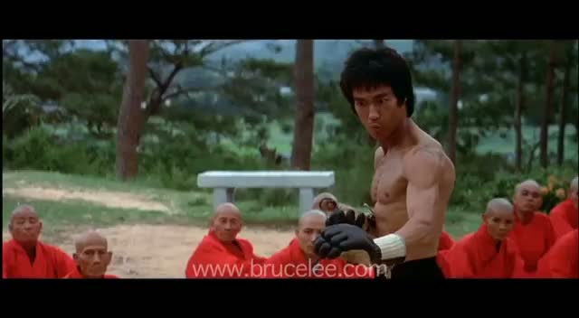 Bruce Lee 'Enter The Dragon' Sammo Hung Fight