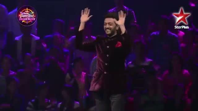 Rahul Mahajan with the MJ5 boys on India's Dancing Superstar