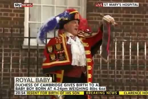 Royal Baby: Duchess of Cambridge gives birth to a boy - as it happened